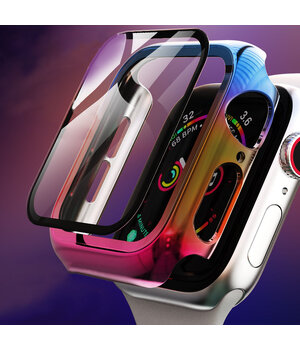 PC+Glass чехол Rainbow для Apple Watch 42mm Rainbow