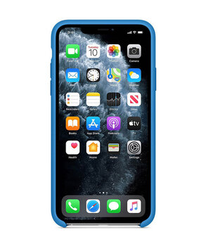 "Чехол Silicone case (AAA) для Apple iPhone 11 Pro Max (6.5"") Синий / Surf Blue"