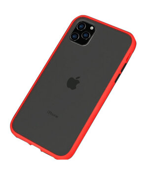 "TPU чехол LikGus Maxshield для Apple iPhone 11 Pro Max (6.5"") Красный"