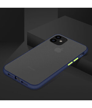"TPU чехол LikGus Maxshield для Apple iPhone 11 Pro Max (6.5"") Синий"