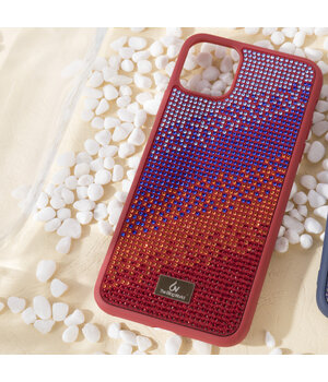 "TPU чехол Bling World Rainbown Design для Apple iPhone 11 Pro Max (6.5"") Красный"