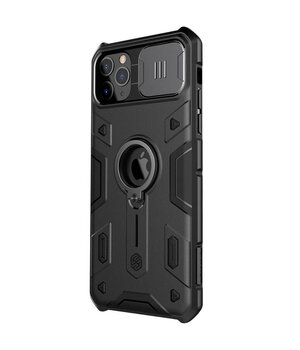 "TPU+PC чехол Nillkin CamShield Armor (шторка на камеру) для Apple iPhone 11 Pro Max (6.5"") Черный"