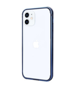 "Metal+PC Бампер G-Case The Grand Series для Apple iPhone 12 mini (5.4"") Синий"