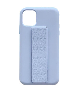 "Чехол Silicone Case Hand Holder для Apple iPhone 12 mini (5.4"") Сиреневый / Dasheen"