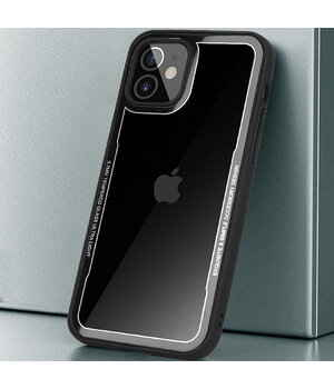 "TPU+PC чехол G-Case Shock Crystal для Apple iPhone 12 mini (5.4"") Черный"