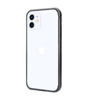 "Metal+PC Бампер G-Case The Grand Series для Apple iPhone 12 mini (5.4"") Черный"