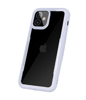 "TPU+PC чехол G-Case Shock Crystal для Apple iPhone 12 mini (5.4"") Белый"