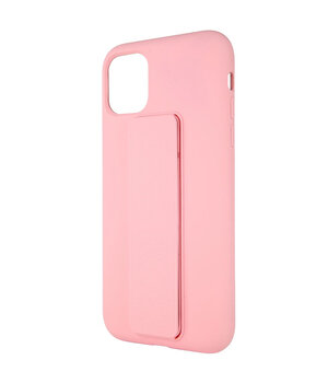 "Чехол Silicone Case Hand Holder для Apple iPhone 12 mini (5.4"") Розовый / Pink"