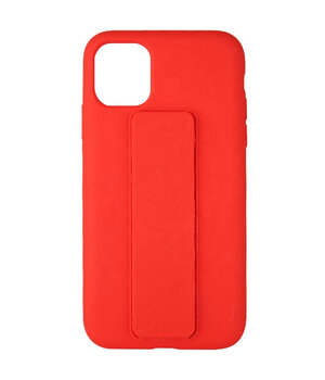 "Чехол Silicone Case Hand Holder для Apple iPhone 12 mini (5.4"") Красный / Red"