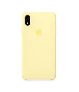 "Чехол Silicone case (AAA) для Apple iPhone XR (6.1"") Желтый / Mellow Yellow"
