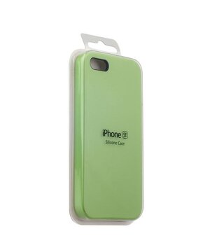"Чехол ""Apple"" Silicone Case для iPhone 5/5S/SE Mint (HC)"