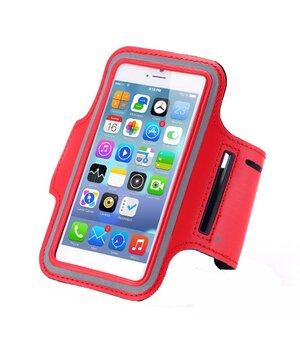 Спортивный красный чехол на руку iArmband для iPhone 6 Plus/6S Plus/7 Plus