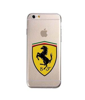 """Чехол """"Ferrari"""" силиконовый для iPhone 6/6S"""