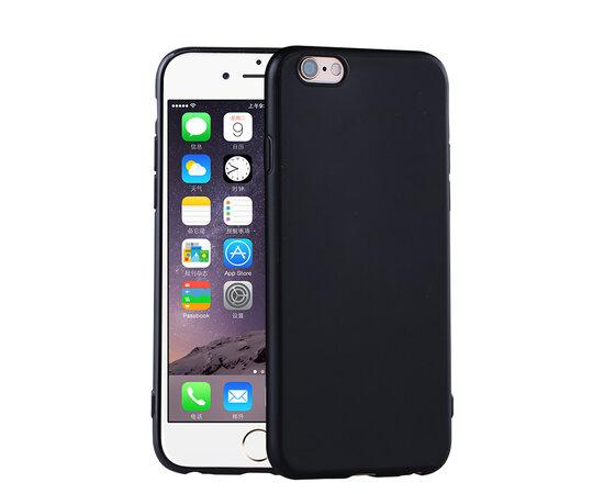 """Чехол """"Matt"""" силиконовый для iPhone 6/6S черный"""
