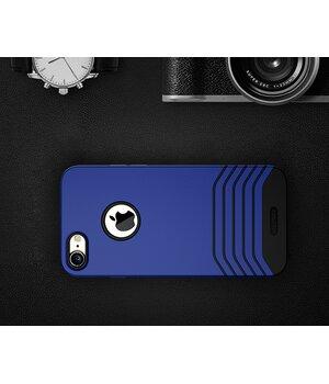 "Противоударный чехол ""Remax"" Saman синий для iPhone 7/8"