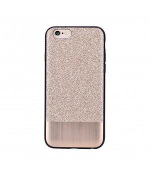 """Чехол с блестками """"Devia"""" Racy золотой для iPhone 6 Plus/6S Plus"""