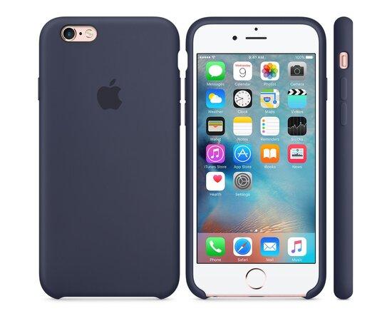 "Чехол ""Apple"" Silicone Case для iPhone 6/6S Midnight Blue (HC)"