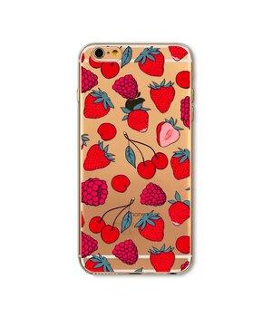 """Чехол """"Ягоды"""" силиконовый для iPhone 7/8"""