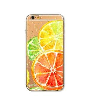 """Чехол """"Цитрусы"""" силиконовый для iPhone 6 Plus/6S Plus"""