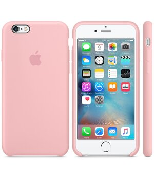 "Чехол ""Apple"" Silicone Case для iPhone 6 Plus/6S Plus Pink (HC)"