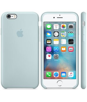 "Чехол ""Apple"" Silicone Case для iPhone 6 Plus/6S Plus Turquoise (HC)"