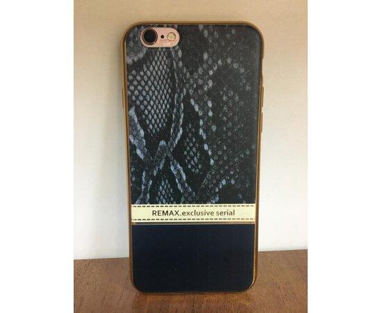 """Чехол """"Remax"""" силиконовый для iPhone 6/6S Exclusive серый"""
