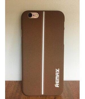 """Чехол """"Remax"""" Sport коричневый iPhone 6/6S"""