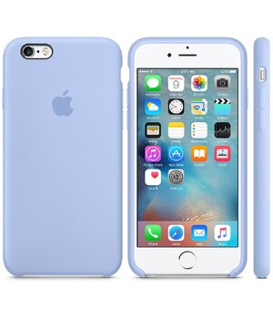 "Чехол ""Apple"" Silicone Case для iPhone 6 Plus/6S Plus Lilac Cream (HC)"