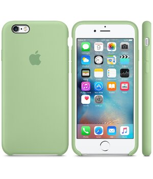 "Чехол ""Apple"" Silicone Case для iPhone 6 Plus/6S Plus Green (HC)"