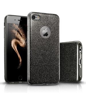 """Чехол с блестками """"Dazzling shine"""" силиконовый для iPhone 6 Plus/6S Plus черный"""