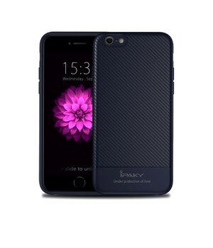 """Противоударный силиконовый чехол """"iPaky"""" Musy темно-синий для iPhone 7/8"""