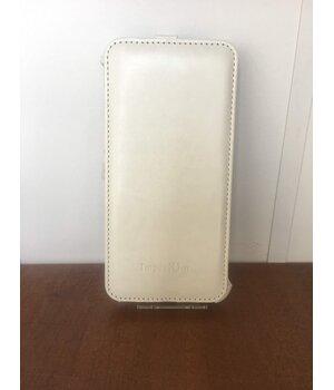 "Кожаный чехол флип ""imperium"" белый для iPhone 6 Plus/6S Plus"