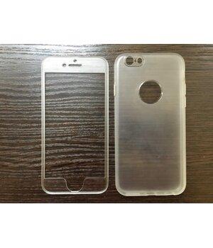 Защитный 360 FULL COVER прозрачный чехол для iPhone 6 Plus/6S Plus