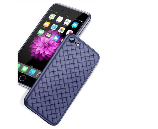 """Чехол """"Weaving"""" силиконовый для iPhone 6/6S синий"""