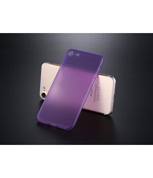 """Ультратонкий пластиковый чехол """"Ultrathin 0.3mm"""" фиолетовый для iPhone 7/8"""