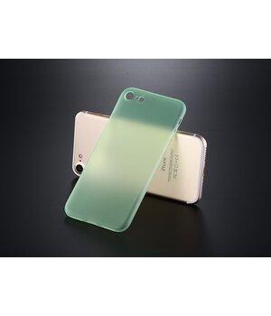 """Ультратонкий пластиковый чехол """"Ultrathin 0.3mm"""" зеленый для iPhone 7/8"""