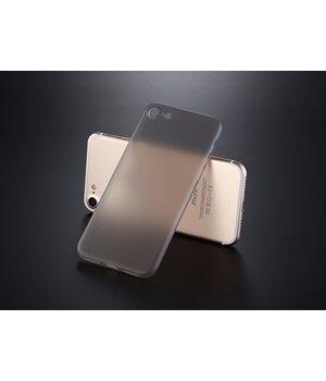 """Ультратонкий пластиковый чехол """"Ultrathin 0.3mm"""" серый для iPhone 7/8"""