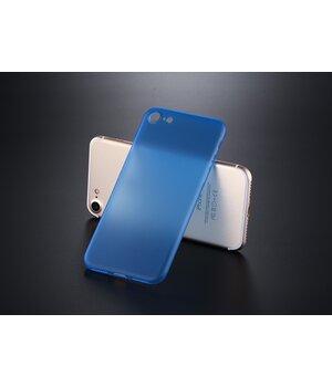 "Ультратонкий пластиковый чехол ""Ultrathin 0.3mm"" синий для iPhone 7/8"