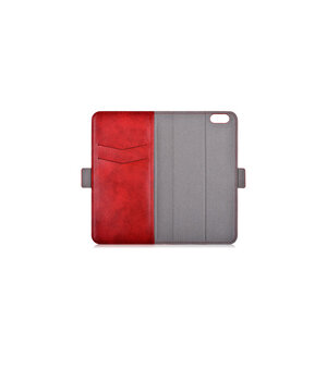 """Кожаный чехол """"Devia"""" Magic 2в1 красный для iPhone 7 Plus/8 Plus"""