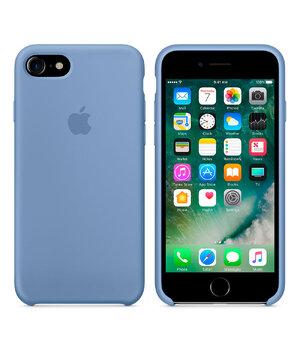 "Чехол ""Apple"" Silicone Case для iPhone 7/8 Azure (HC)"