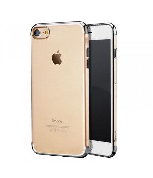 """Силиконовый """"Royal style"""" серый чехол для iPhone 7/8"""