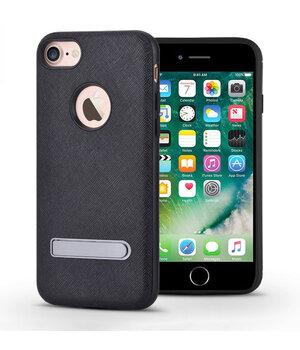 """Чехол с подставкой """"Devia"""" iStand черный для iPhone 7/8"""