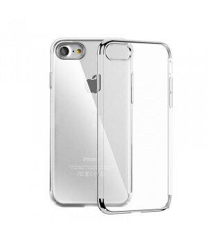 """Силиконовый """"Royal style"""" серебряный чехол для iPhone 7/8"""