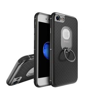 """Противоударный чехол """"iPaky"""" Ring Series черный для iPhone 7/8"""