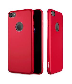 """Чехол """"Baseus"""" силиконовый для iPhone 7/8 Mystery Ultrathin красный"""