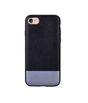 """Кожаный чехол """"Devia"""" Commander черный для iPhone 7/8"""