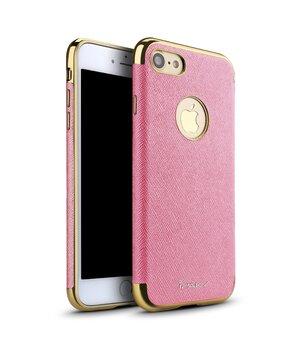 """Чехол """"iPaky"""" силиконовый для iPhone 7/8 Chrome розовый"""