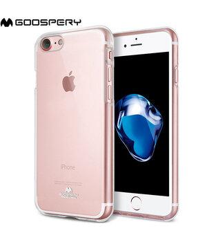 """Чехол """"GOOSPERY"""" силиконовый для iPhone 7/8 прозрачный"""