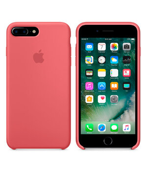 "Чехол ""Apple"" Silicone Case для iPhone 7 Plus/8 Plus Camellia (HC)"