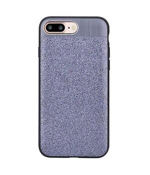 """Чехол с блестками """"Devia"""" Racy серебряный для iPhone 7 Plus/8 Plus"""